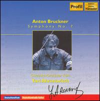 Bruckner: Symphony No. 7 - Gürzenich Chamber Orchestra of Cologne; Yuri Ahronovitch (conductor)
