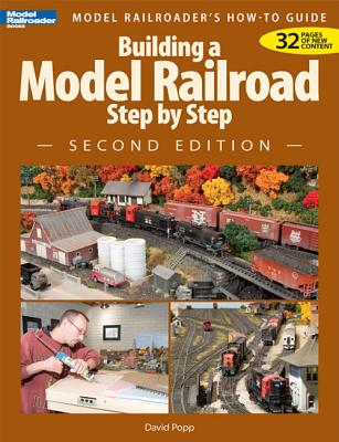 Building a Model Railroad Step by Step - Popp, David
