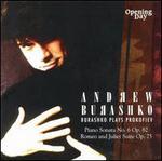 Burashko Plays Prokofiev