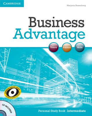 Business Advantage Intermediate Personal Study Book with Audio CD - Rosenberg, Marjorie