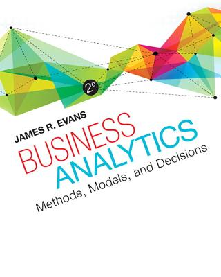 Business Analytics - Evans, James R.