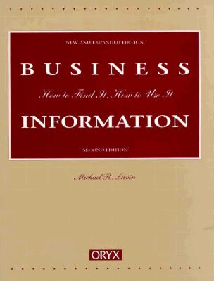 Business Information: Second Edition - Lavin, Michael R