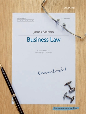 Business Law Concentrate - Marson, James