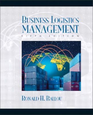 Business Logistics Management - Ballou, Ronald H