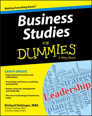 Business Studies for Dummies - Pettinger, Richard