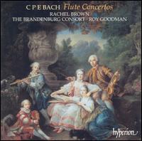C.P.E. Bach: Flute Concertos - Brandenburg Consort; Rachel Brown (baroque flute); Roy Goodman (fortepiano); Roy Goodman (harpsichord)
