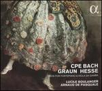C.P.E. Bach, Graun, Hesse: Trios for Fortepiano & Viola da Gamba