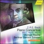 C.P.E. Bach: Piano Concertos, Wq. 1, Wq. 45, Wq. 15