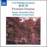 C.P.E. Bach: Prussian Sonatas - Susan Alexander-Max (piano)