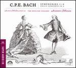 C.P.E. Bach: Symphonies Nos. 1-4; Cello Concerto in A