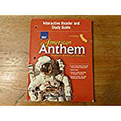 CA Int Rdr Sg Am Anthem 2007 Mod - Holt Rinehart & Winston