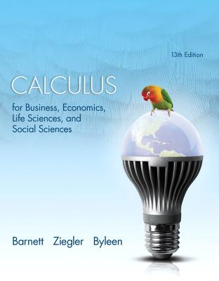Calculus for Business, Economics, Life Sciences and Social Sciences with MyMathLab Access Card Package - Barnett, Raymond A