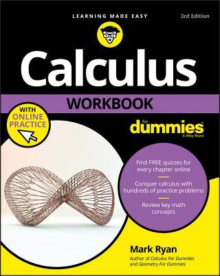 Calculus Workbook for Dummies - Ryan, Mark