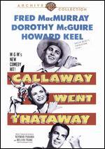 Callaway Went Thataway - Melvin Frank; Norman Panama