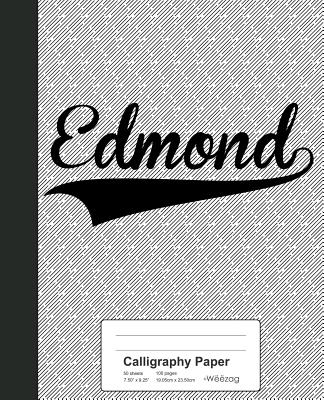 Calligraphy Paper: EDMOND Notebook - Weezag