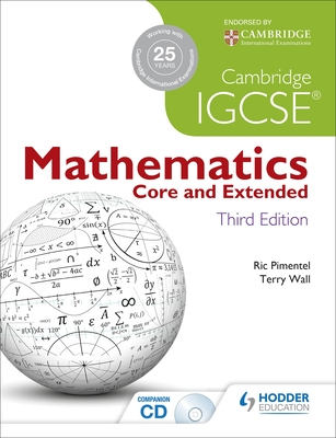 9781444191707 cambridge igcse mathematics core and extended 3ed cambridge igcse mathematics core and extended 3ed cd wall terry and pimentel fandeluxe