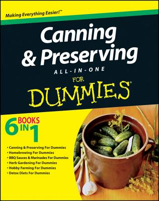 Canning and Preserving All-in-One For Dummies - Consumer Dummies