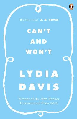 Can't and Won't - Davis, Lydia