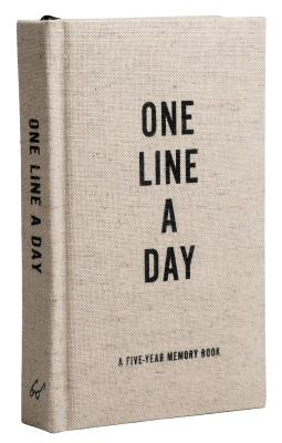Canvas One Line a Day - Chronicle Books