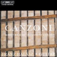 Canzoni - Franz Halasz (guitar)