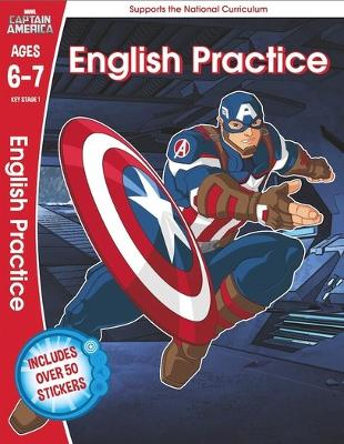 Captain America: English Practice, Ages 6-7 - Scholastic