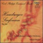 Carl Philipp Emanuel Bach: Hamburger Sinfonien Wq 182