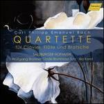Carl Philipp Emanuel Bach: Quartette für Clavier, Flöte und Bratsche
