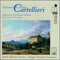 Cartellieri: Concertos for Clarinet and Orchestra Vol. 1 - Dieter Klöcker (clarinet); Prague Chamber Orchestra