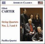 Carter: String Quartets Nos. 2, 3 & 4