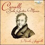 Carulli: Solo Guitar Music