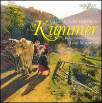 Caspar Kummer: Chamber Music for Winds - Danilo Zaffaroni (bassoon); Elena Cecconi (flute); Luigi Magistrelli (clarinet); Luigi Magistrelli (basset horn);...