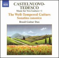 Castelnuovo-Tedesco: Music for Two Guitars, Vol. 1 -