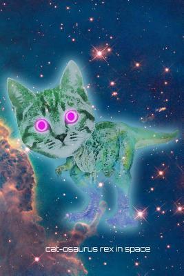 Cat-Osaurus Rex in Space Journal - Journals, Surreal