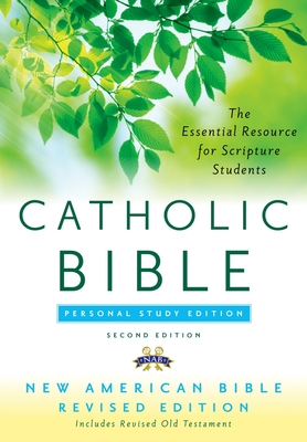 Catholic Bible-Nabre-Personal Study book by Oxford