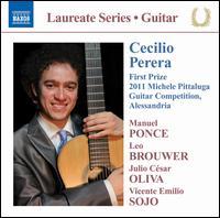 Cecilio Perera: First Prize 2011 Michele Pittaluga Guitar Competition - Cecilio Perera (guitar)