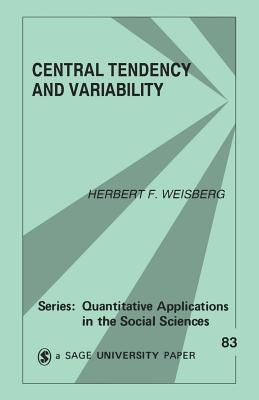 Central Tendency and Variability - Weisberg, Herbert F (Editor)