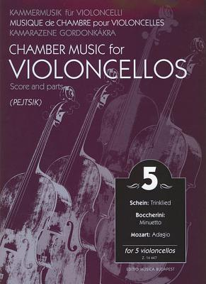 Chamber Music for Violoncellos - Volume 5: 5 Violoncellos Score and Parts - Hal Leonard Publishing Corporation (Creator)