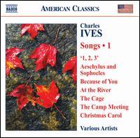 Charles Ives: Songs, Vol. 1 - Biava Quartet; David Pittsinger (bass); Douglas Dickson (piano); Eric Trudel (piano); Frederick Teardo (organ);...