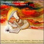 Charles Wuorinen: Music of Two Decades, Vol. 1 - Columbia University Group for Contemporary Music; Daniel Reed (violin); Donald Palma (double bass); Fred Sherry (cello);...