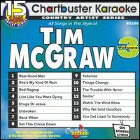 Chartbuster Karaoke: Tim McGraw, Vol. 3 [15 Tracks] - Karaoke