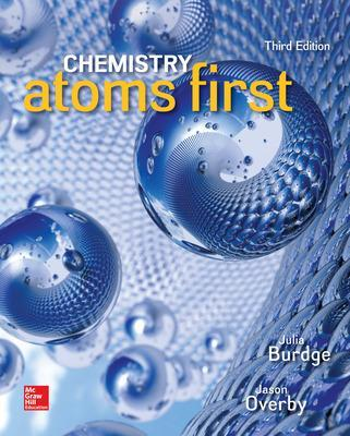Chemistry: Atoms First - Burdge, Julia, and Overby, Jason