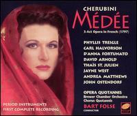 Cherubini: Médée - Andrea Matthews (vocals); Carl Halvorson (vocals); D'Anna Fortunato (vocals); David Arnold (vocals); Jayne West (vocals);...