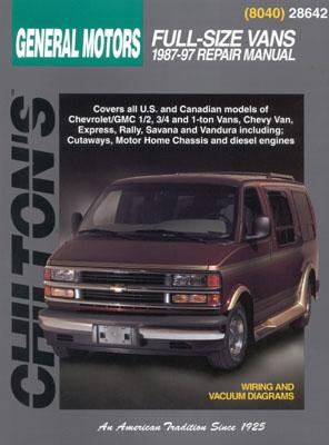 Chevrolet Vans (87 - 97) - Chilton Publishing, and Chilton Automotive Books, and The Nichols/Chilton