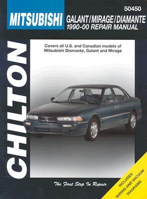 Chilton Mitsubishi Galant/Mirage/Diamante 1990-00 - Nichols
