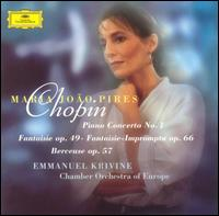 Chopin: Piano Concerto No. 1; Fantaise, op. 49; Fantaisie-Impromptu, Op. 66; Berceuse, Op. 57 - Maria João Pires (piano); Chamber Orchestra of Europe; Emmanuel Krivine (conductor)
