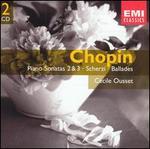 Chopin: Piano Sonatas Nos. 2 & 3; Scherzi; Ballades