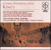 Choral Favourites from King's - Academy of Ancient Music; Alfreda Hodgson (alto); Andrew Davis (piano); Andrew King (tenor); Bruce Russell (treble);...