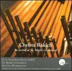 Christa Rakich in Recital at St. Mark's Cathedral