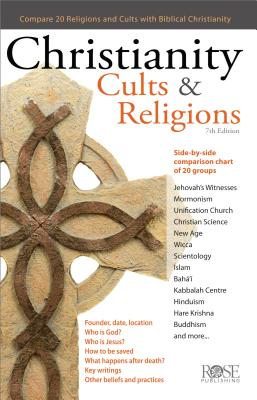 Christianity, Cults and Religions Pamphlet - Rose Publishing (Manufactured by)