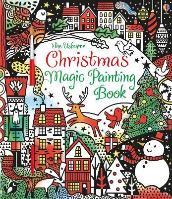 Christmas Magic Painting Book - Watt, Fiona